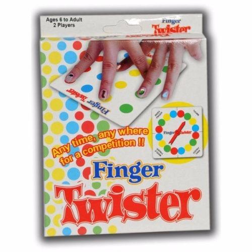mini juego de mesa twister para dedos fiesta diversión