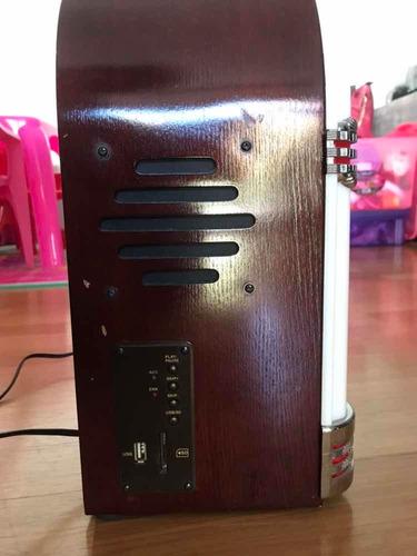 Mini Jukebox Com Cd, Sd Card, Ubs E Rádio