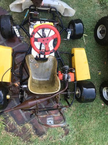 mini karting  tbf racing (ideal para comenzar)