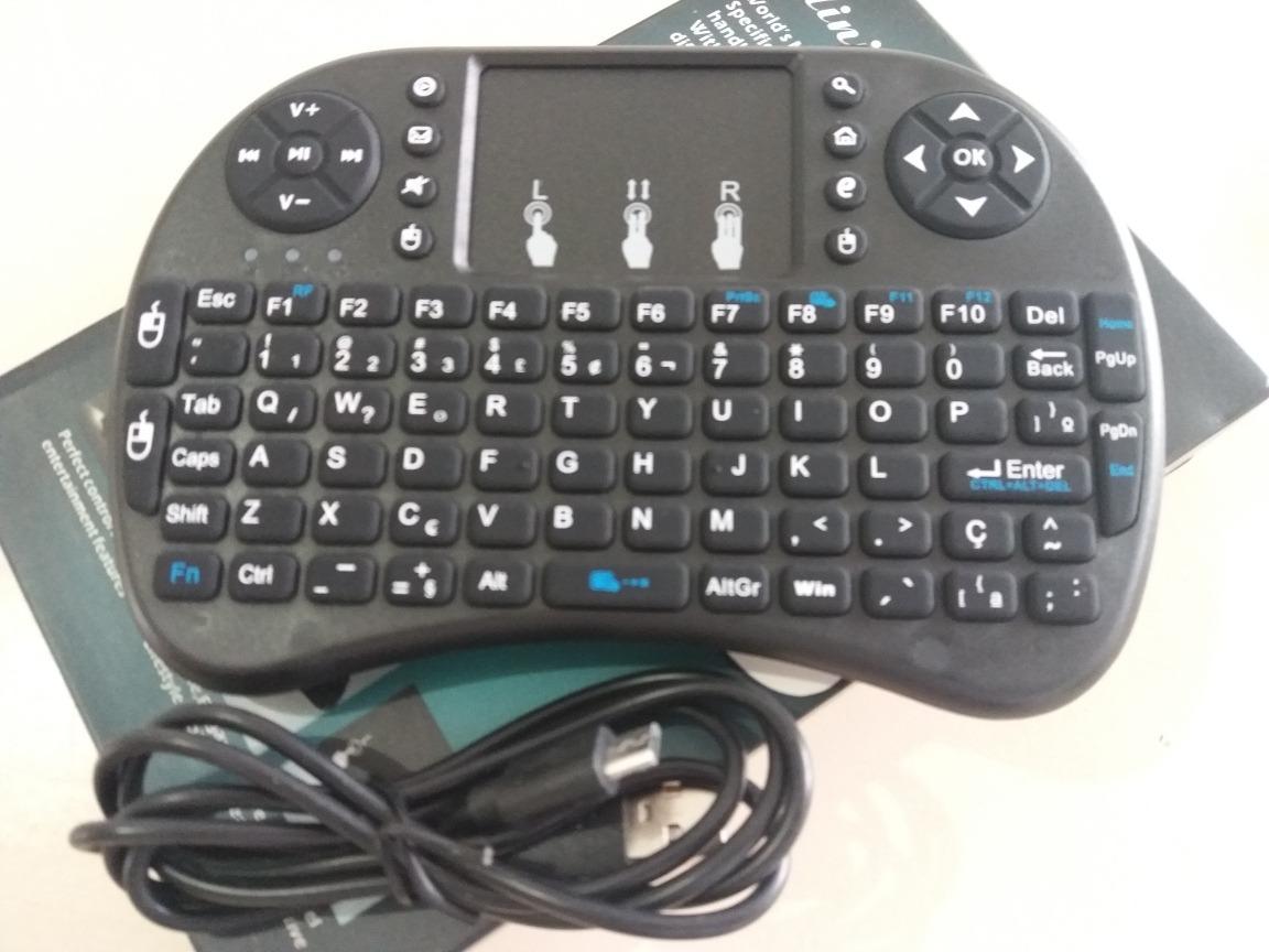 Mini Keyboard Teclado Para Pc Celular E Smart Tv R 21 00 Em