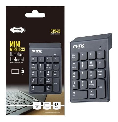mini keypad inalambrico m-tk gt945