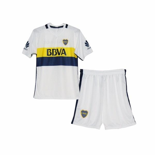 watch 9571b aebbb Mini Kit Boca Juniors 2016/17 Camiseta Short Personalizado