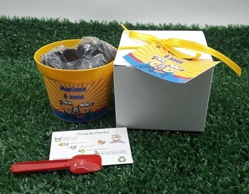 mini kit plantio tag personalizado ervas e temperos c/10 un