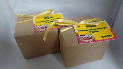 mini kit plantio tag personalizado girassol combo c/15un