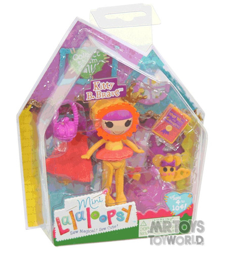 mini lalaloopsy - kitty b. brave buba 2814