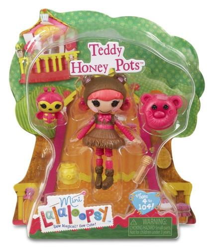 mini lalaloopsy - teddy honey pots - buba
