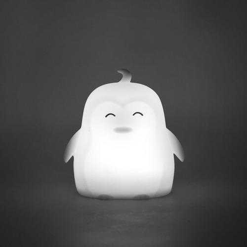 mini lámpara led colores silicona pingüino díaz jr gato