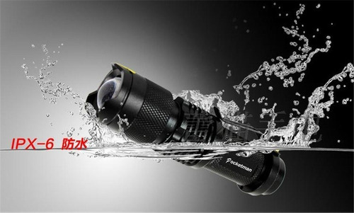 mini lanterna de alta qualidade 2000lm led a prova d`água