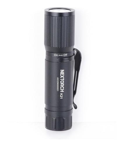 mini lanterna giratória 160 lúmens 3 modos nextorch k21
