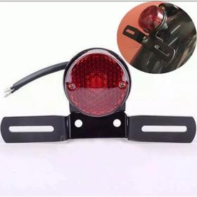 Mini Lanterna Suporte De Placa Moto Cafe Racer Custom