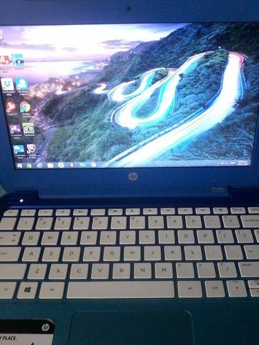 mini lapto hp stream notebook 11 azul - pc - poco uso