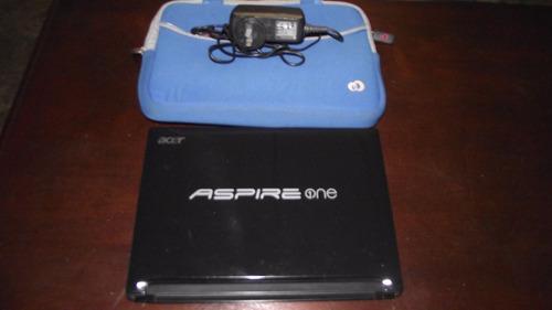 mini laptop acer anspire one aod255e wifi 2gb ram 260gb