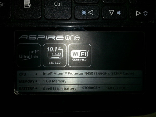 mini laptop acer one