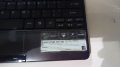 mini laptop acer one d270 para repuesto
