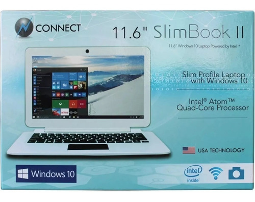 mini laptop connect 11.6 atom quad core 32gb 2gb ram msi