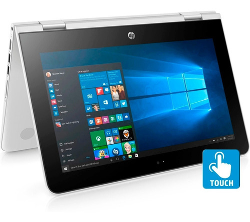 mini laptop hp x360 11.6' intel 2.4g 4gb+500gb tecl. español