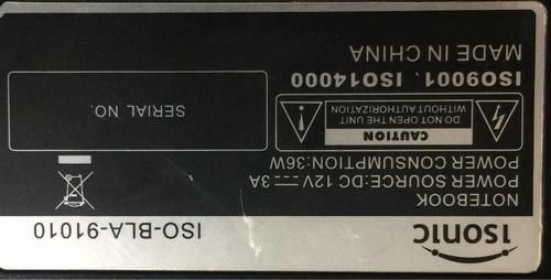 mini laptop isonic para reparar o repuesto