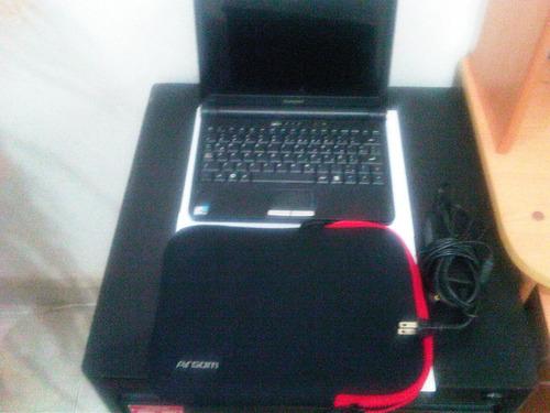 mini laptop lenovo s10e con forro
