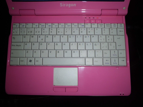 mini laptop siragon ml-1020 rosada