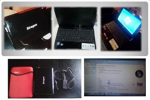 mini laptop siragon ml1040 negociable