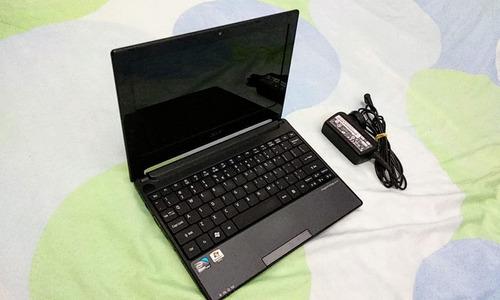 mini laptop ultra delgada acer aspire one impecable