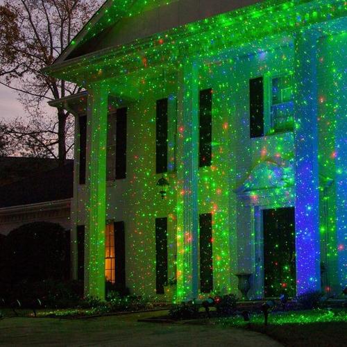 mini laser figura navideña ritmico eventos navidad
