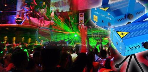 mini laser lluvia cosmica par bares,discotecas o karaokes