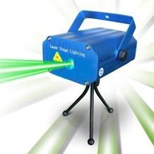 mini laser multipunto proyecta luz de puntos verdes rojos