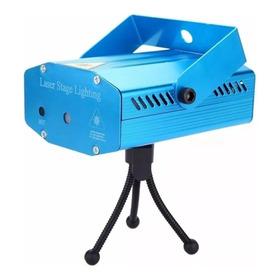 Mini Laser Projetor Holográfico Dj Balada Festa Iluminação