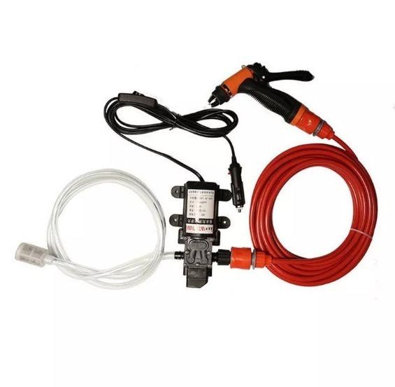 5858084a2d7 Mini Lavadora Alta Pressão 130 Psi Portátil 12v 70w - R  325