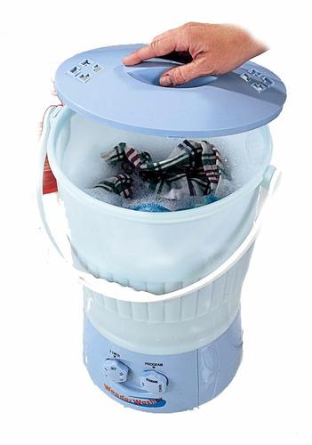 mini lavadora portátil wonder wash lavar ropa 7 litros hm4
