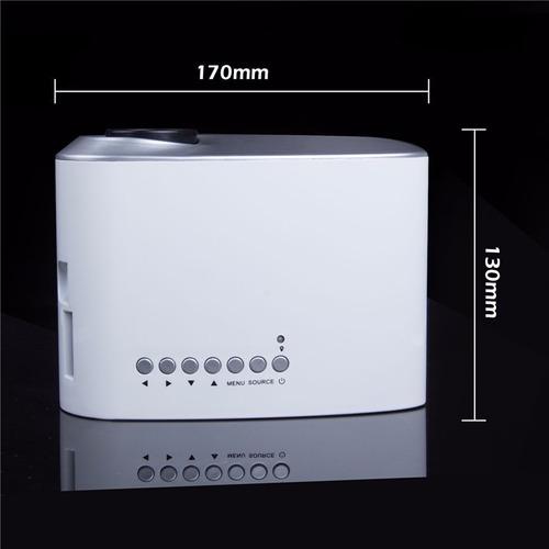 mini led proyector video beam  hd sd hdmi + envio