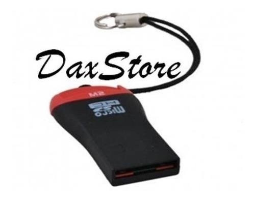 mini leitor e adaptador usb cartão de memória micro sd