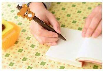 mini libreta y lapicero de rilakkuma