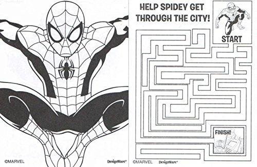 Spiderman Para Colorear Para Libro De Spiderman Para: Mini Libro De Colorear Spiderman Marvel Ultimate Con