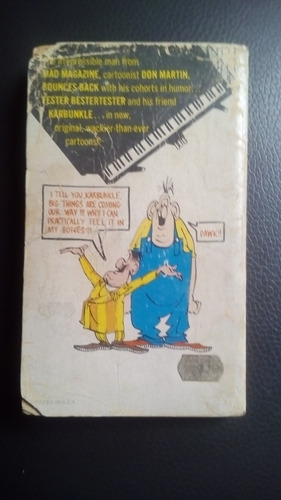 mini libro mad don martin no.2 en ingles año-1976