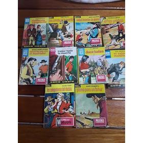 Mini Libros Bruguera Serie Oeste Lote X 10  1962 / 63