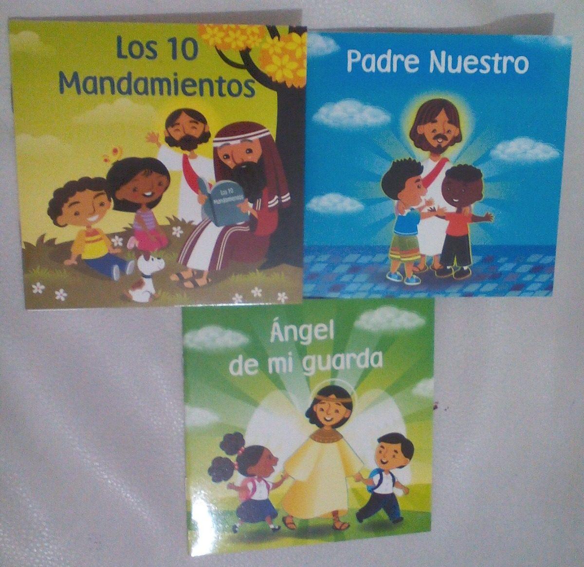 Mini Libros De Religión Texto Ilustraciones Para Niños Nuev Bs