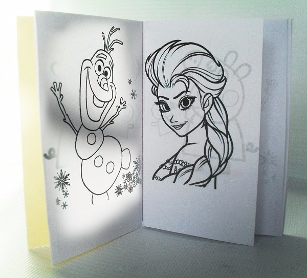 Mini Libros Para Colorear Frozen Cotillon Piñata - Bs. 260.000,00 en ...