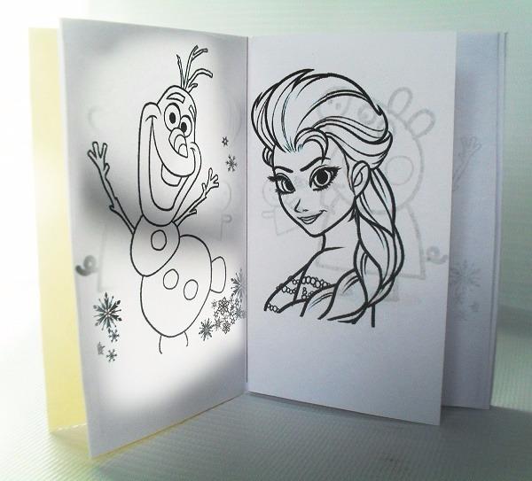 Mini Libros Para Colorear Frozen Cotillon Piñata - Bs. 37,50 en ...