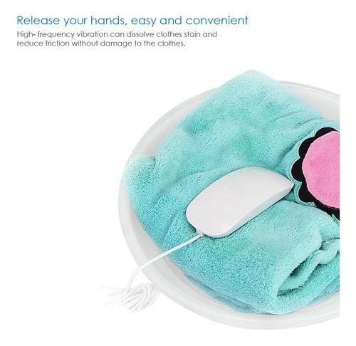 mini limpiador de lavadora ultrasónico portátil usb