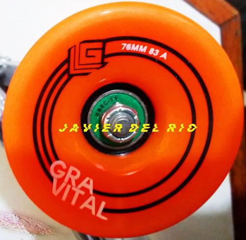 mini longboard gravital+ llave t abec11 maple canada+ bambú