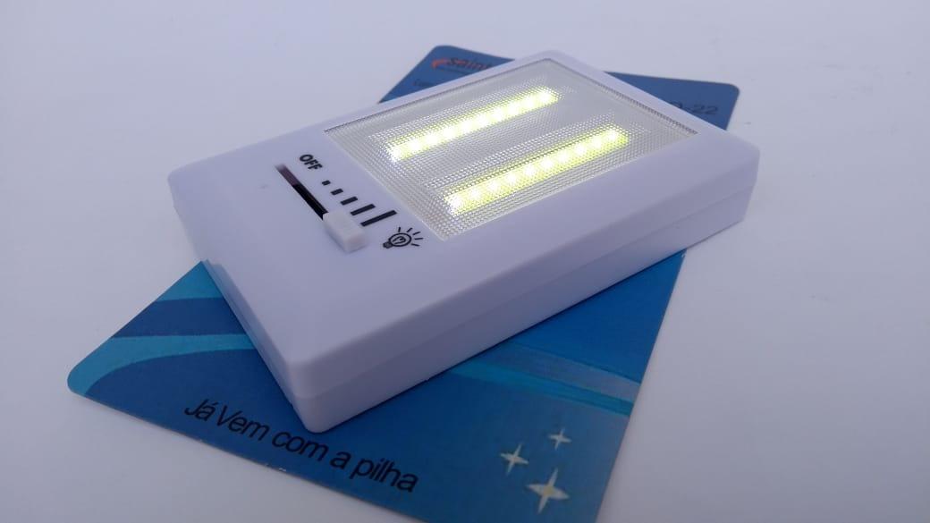 d740b4dbc74 mini luminária led portátil regulável 3w sem fio à pilha imã. Carregando  zoom.