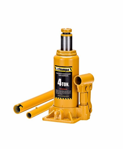 mini macaco hidráulico 4 toneladas garrafa e aspirador de pó