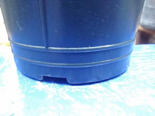 mini maceta soplada 1/2 lts medio litro macetin plantin n10