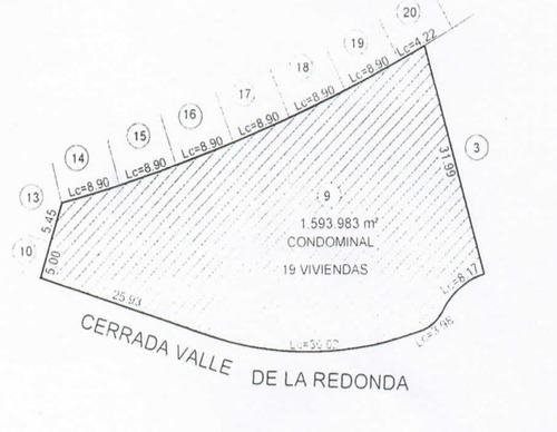 mini macrolote vertical en zibata 1,593.98m2