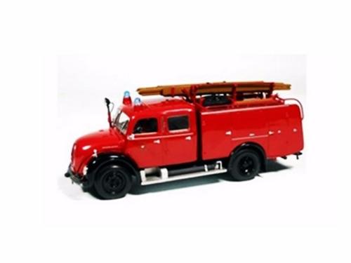 mini magirus deutz merkur tlf 1959 bombeiro 1:43 minichamps