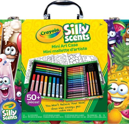 mini maleta de arte silly scent crayola
