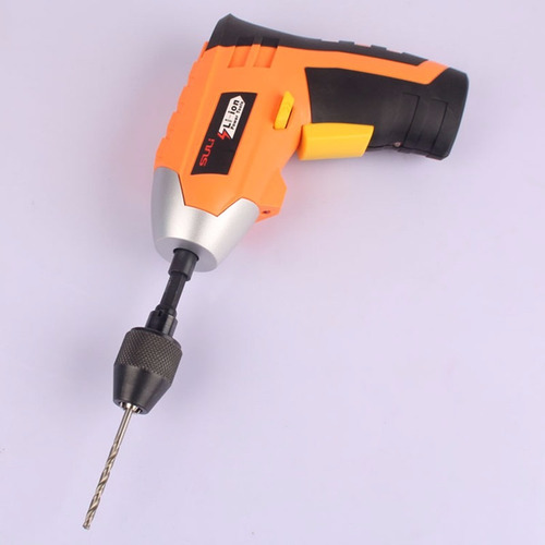 mini mandril para parafusadeira haste 1/4 micro retifica 8mm