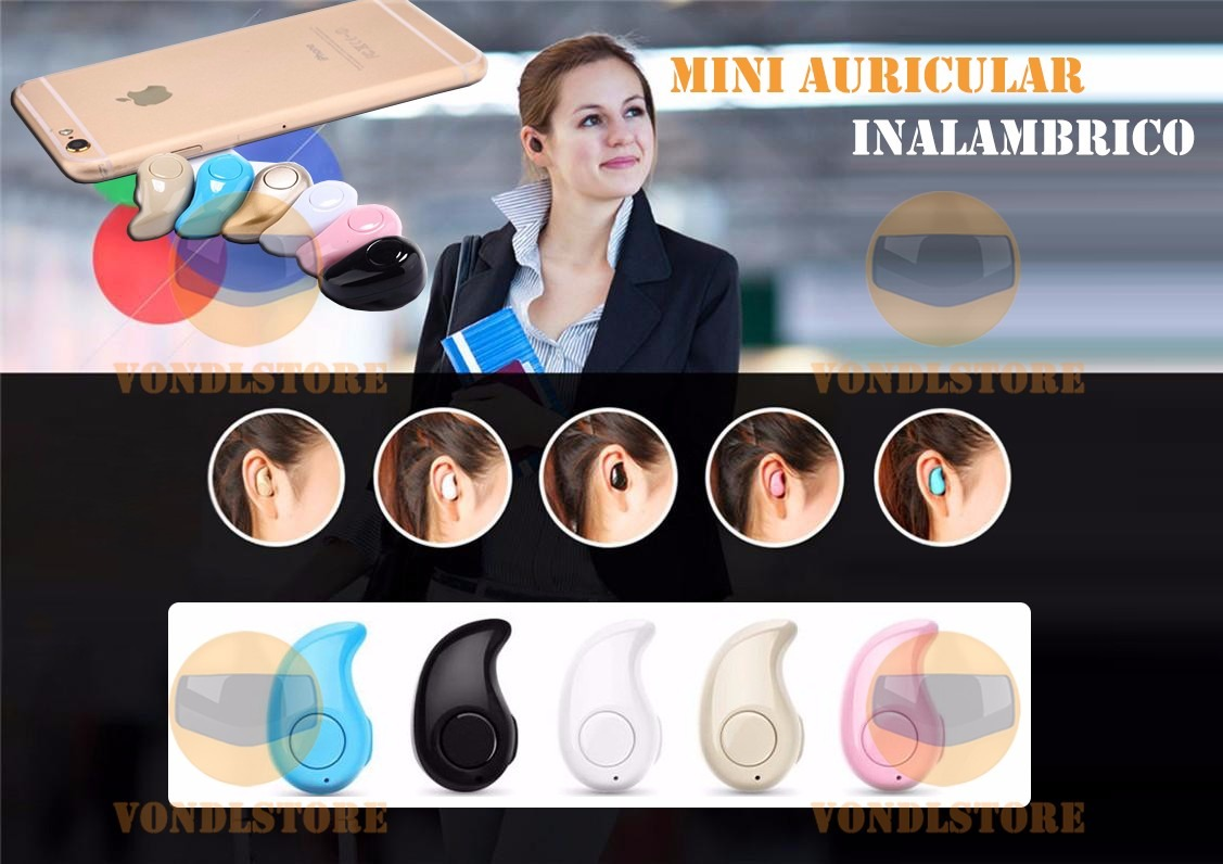 Mini manos libres auricular audifono inalambrico bluetooth for Manos libres oficina